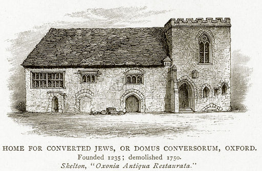 Home for converted Jews, or Domus Conversorum, Oxford
